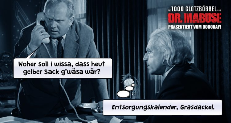 Die 1000 Glotzboebbel vom Dr Mabuse