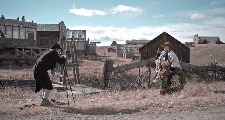 Cowboy Camembert A l'ouest