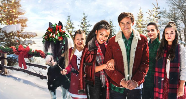 Zoe und Raven Es weihnachtet sehr Free Rein: The Twelve Neighs of Christmas Netflix