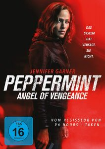 Peppermint Angel of Vengeance DVD