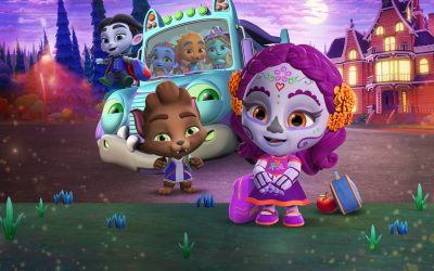 Schulanfang für die Supermonster Super Monsters Back to School Netflix