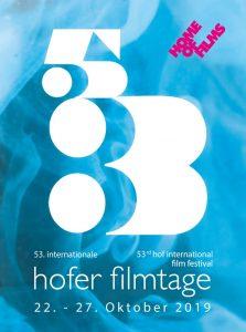 Hofer Filmtage 2019 Plakat