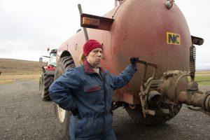 Milchkrieg in Dalsmynni The County
