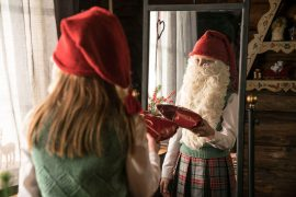 Lucia und der Weihnachtsmann