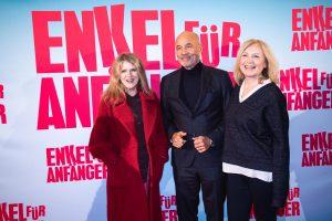 Enkel für Anfänger Barbara Sukowa, Heiner Lauterbach und Maren Kroymann (Premiere in Essen, Lichtburg, am Sonntag, 26.01.2020)