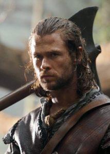 Chris Hemsworth Snow White and the Huntsmen