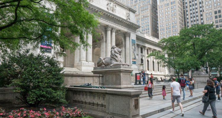 Ex Libris Die Public Library von New York