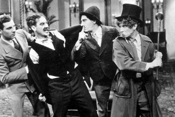 Die Marx Brothers im Krieg Duck Soup