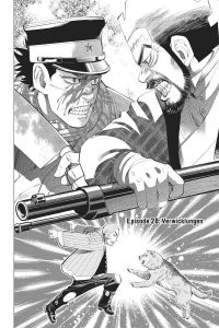 Golden Kamuy Band 4 Comic Manga