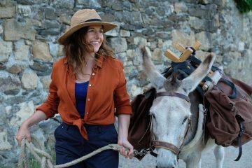 Mein Liebhaber der Esel und ich Antoinette dans les Cevennes