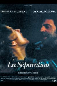 Trennung La séparation Isabelle Huppert