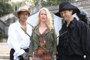 Hakim (Omar El-Saeidi), Charlotte (Christine Eixenberger), Noah (Franz Dinda)
