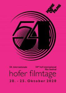 Hofer Filmtage 2020 Plakat