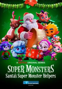 Die Supermonster Monstermäßige Weihnachten Super Monsters: Santa's Super Monster Helpers, Netflix