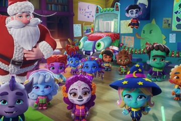 Die Supermonster Monstermäßige Weihnachten Super Monsters: Santa's Super Monster Helpers, Netflix