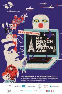 MyFrenchFilmFestival Poster 2021