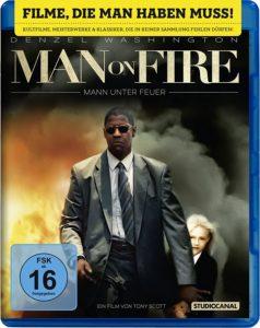 Man on Fire Mann unter Feuer