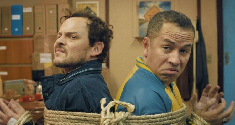 Zwei Bullen auf Ziegenjagd Cabras da Peste Get the Goat Netflix