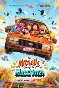 Die Mitchells gegen die Maschinen THE MITCHELLS VS. THE MACHINES Netflix