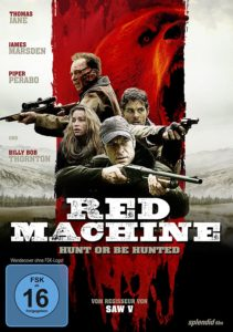 Red Machine – Hunt or Be Hunted Into the Grizzly Maze
