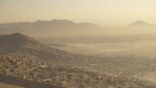Kabul Stadt im Wind City in the Wind